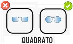 Montatura Occhiali: scelta per viso quadrato