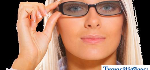 Occhiali con lenti fotocromatiche Transitions