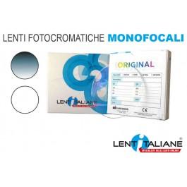 Lente graduata per occhiali fotocromatici monofocali