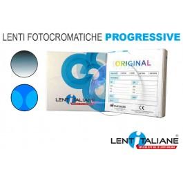Lente graduata per occhiali fotocromatici progressivi