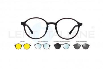 Occhiale da vista e da sole Ultem U-288 Nero