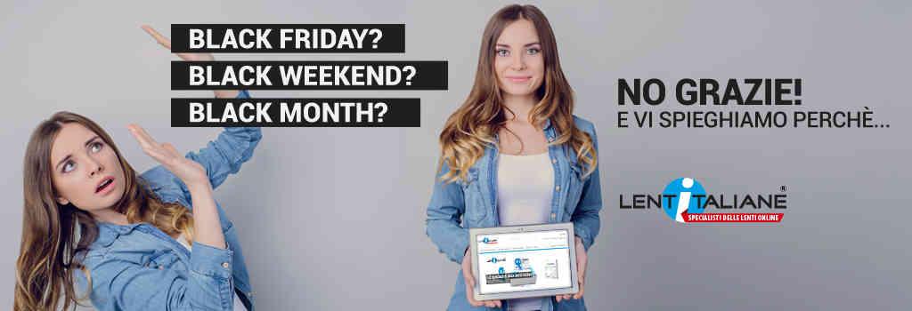 Black Friday? No, grazie...