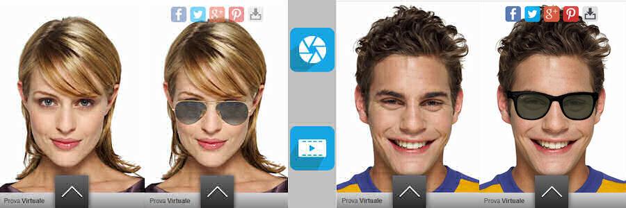 Prova virtuale delle tue montature preferite