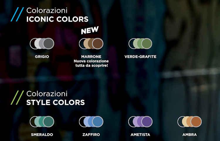 I nuovi colori Signature 8