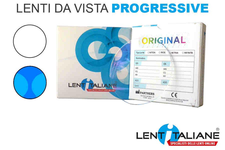 Lenti Progressive a partire da 60€ sino al 31.03