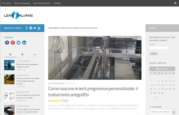 Lenti Italiane | Il blog per essere informati e scegliere al meglio.