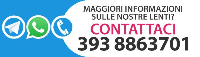 Se hai un dubbio sulle nostre lenti o vuoi avere informazioni sulla procedura di acquisto, contattaci subito!
