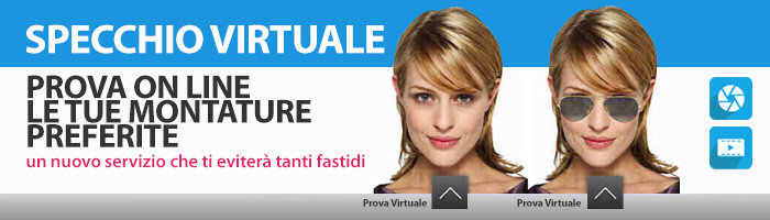 Specchio Virtuale: prova online le tue montature