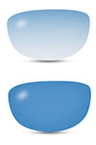Filtro da sole fotocromatico fashion blu
