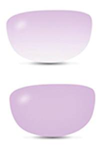 Filtro da sole fotocromatico fashion rosa