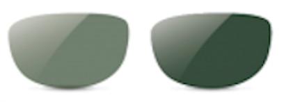 Filtro da sole fotocromatico verde