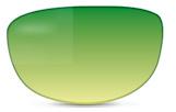 Filtro da sole Fashion Sfumato Verde/Giallo